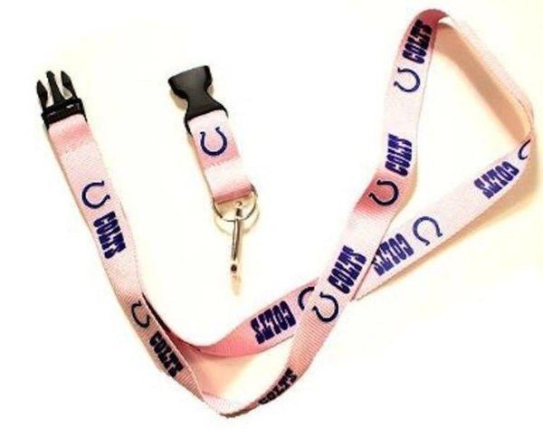 Indianapolis Colts Pink Lanyard