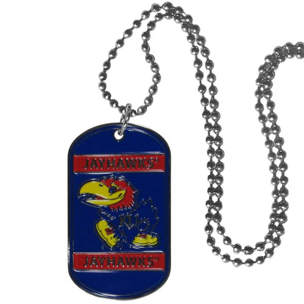 NCAA Kansas Jayhawks Dog Tag
