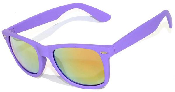 Retro Matte Finish Purple with ColoredLens