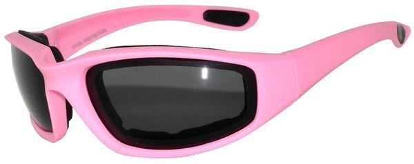 750 Owl Padded Motorcycle Pink Smoke Lens