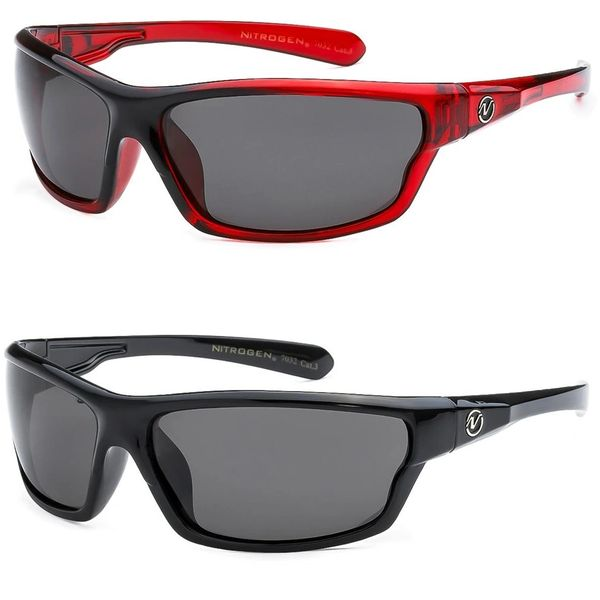7032 Nitrogen Polarized 2 Pack Black & Red