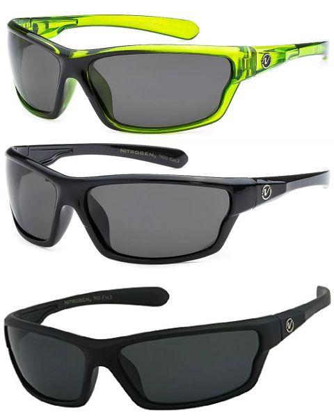 7032 Nitrogen Polarized 3 Pack Black & Black Matte & Green