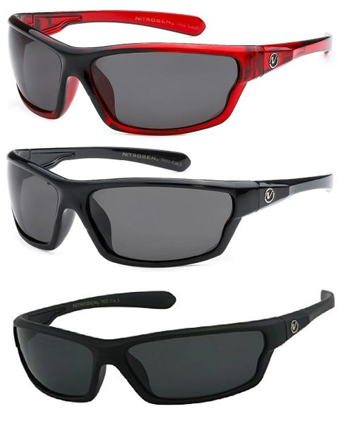 7032 Nitrogen Polarized 3 Pack Black & Black Matte & Red