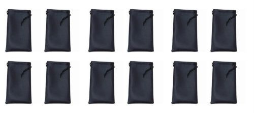 Microfiber Bags Black Wholesale Dozen