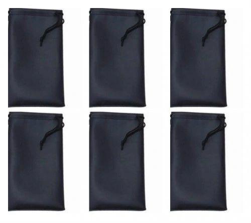 Microfiber Bags Black – 6 Bags