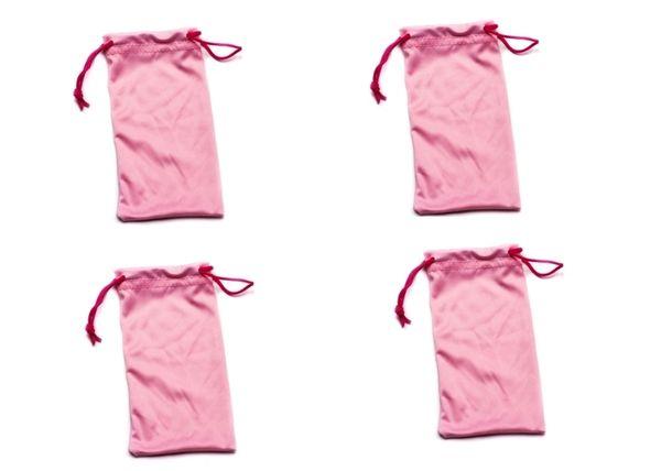 Microfiber Bags Pink – 4 Bags