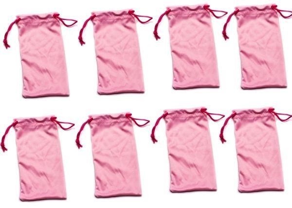 Microfiber Bags Pink – 8 Bags