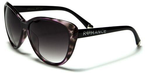 90011 Romance Large Cat Eye Purple Tortoise Shell