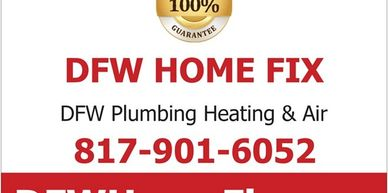 North Richland Hills plumbing service is provided by DFW Plumbing Service in North Richland Hills.