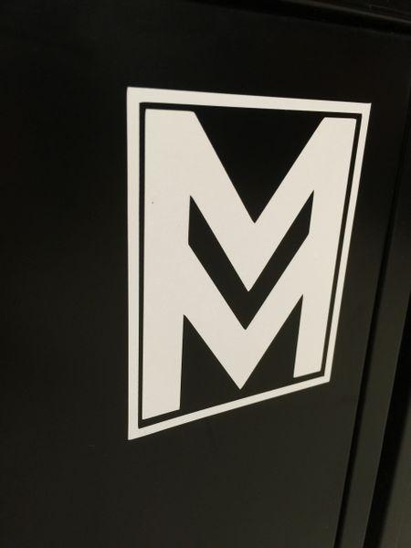 Mod Mafia Stickers Matte White