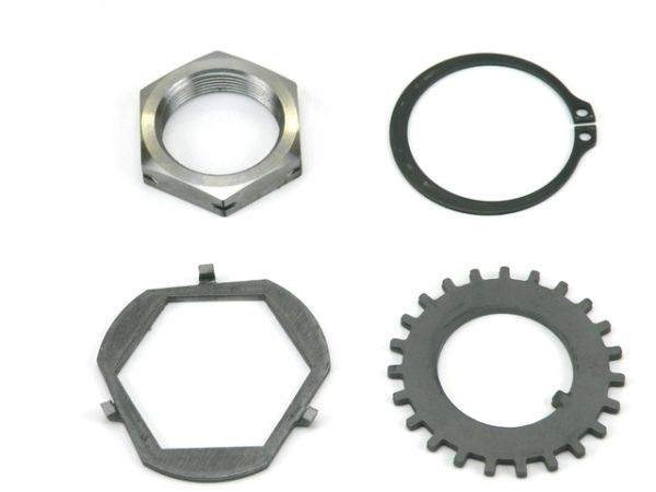 BlueHummer Outfitters Locking Spindle Nut Kit (per hub)