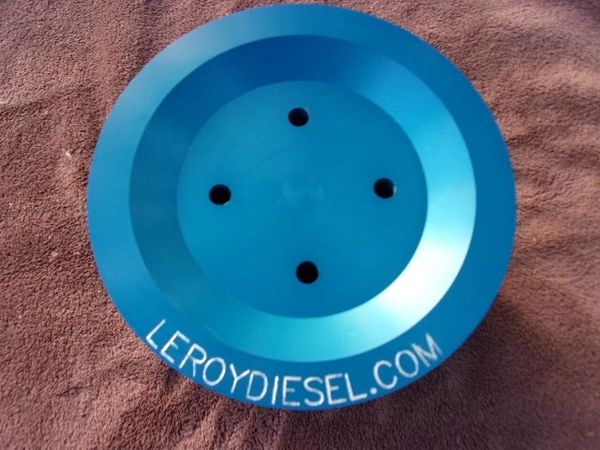 Leroy Diesel Billet Crankshaft Pulley