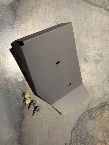 Viper Titanium Fusebox Heatshield