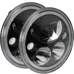 Vision X 7″ Vortex LED Headlight XIL-7RDBKIT