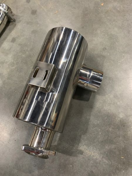 UORVA Engineering Stainless Steel Catback Exhaust System w/ Muffler