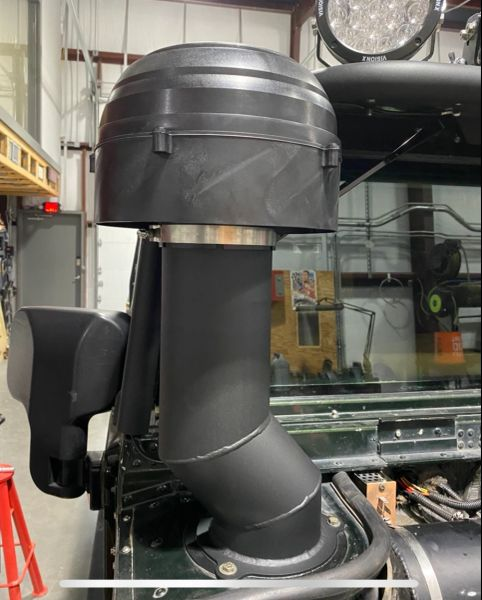 Mod Mafia Aluminium 5 Inch Offset Snorkel