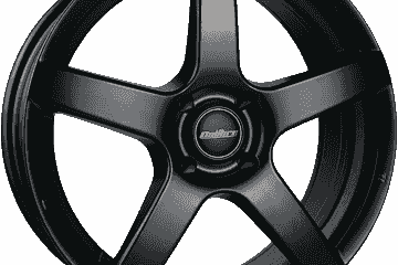 Black Calibre Pace alloy wheels and winter tyres