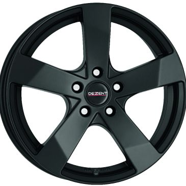 Dezent TD Dark matt black 5 sppke alloy wheel