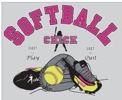 Softball Chick