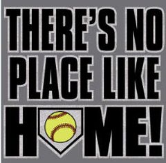 Softball Theres no place home Hoodie