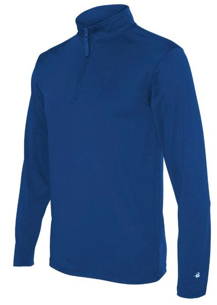 Quarter Zip Long Sleeve Performance Shirt
