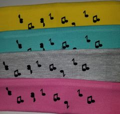 Headband, Music Notes
