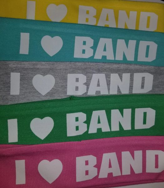 Headband, I Love Band
