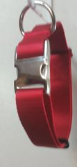Adjustable 1-5 Webbing Collar Metal-Side-Release-Buckle