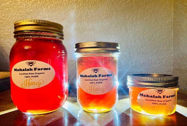 Mahalah Farms Honey (Medium - 16oz)