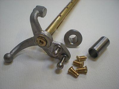 Push throttle shaft & bush kit