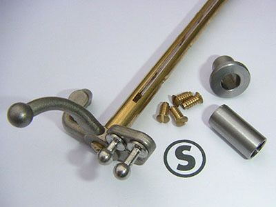 Throttle shaft and bush kit
