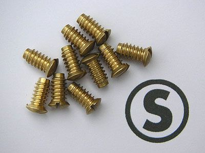 Throttle/choke screws x 10