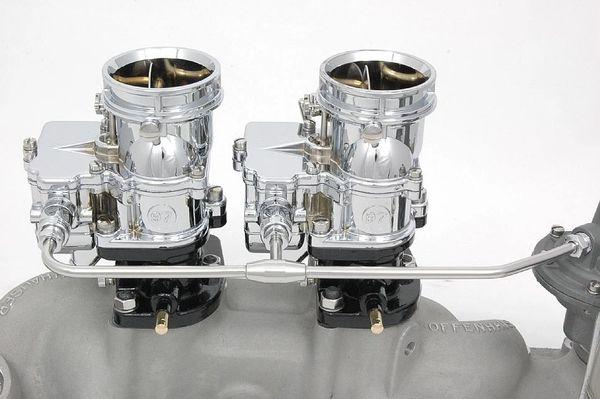 TwoStep Fuel Line 2x2 - Flathead Ford & 7RA pump - polished