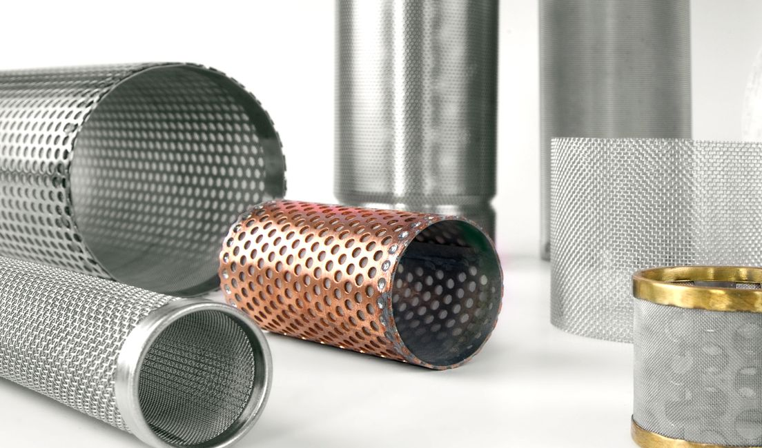 Cylinder filters made in the UK by Air & Liquid Filtration