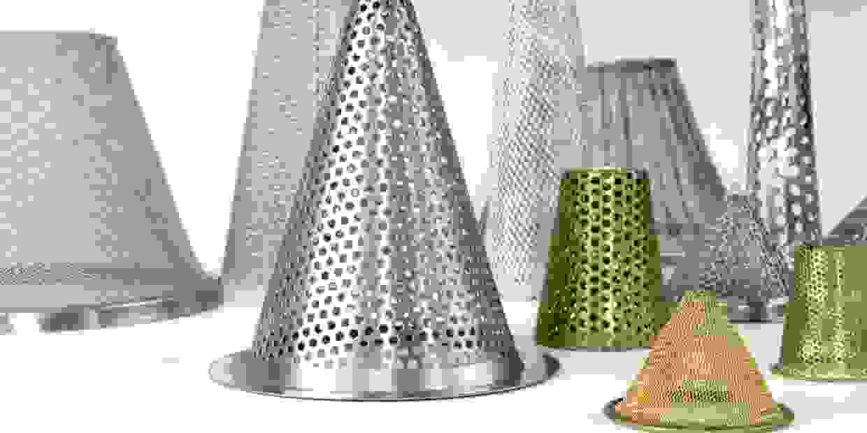 Cone shaped or conical filters manufactured by Air & Liquid Filtration
