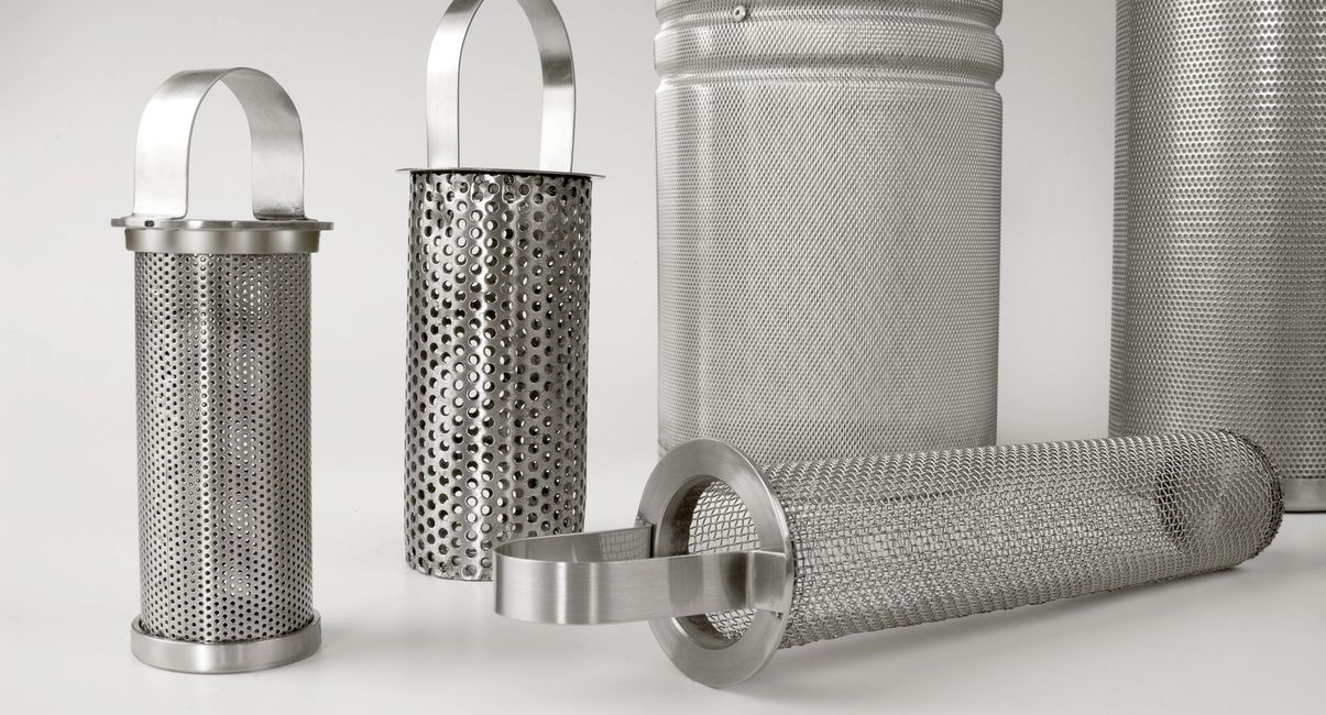 Basket filters from manufacturer Air & Liquid Filtration