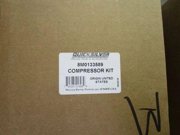 New Mercury Compressor Kit 8M0133589