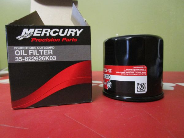 35-822626K03 oil filter by Mercury NEW free shipping