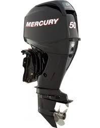 New 2022 Mercury 50 hp ELPT outboard