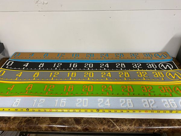 """Marine stick 42"""" is overall size reads 36"""" sold as each choose your color by Marine mat"""