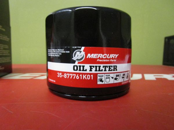 NEW Mercury four stroke outboard oil filter 35-877761K01