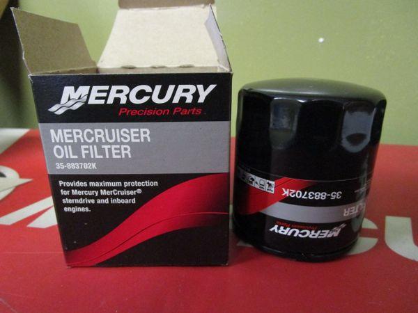 35-883702K Mercruiser oil filter new GM V-6