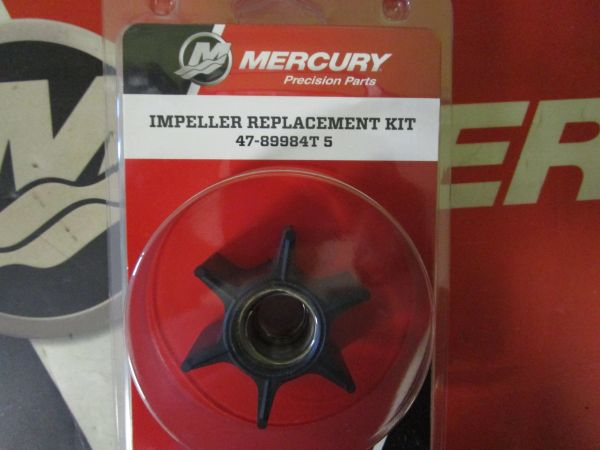 NEW Mercury water pump impeller replacement kit 47-89984T5
