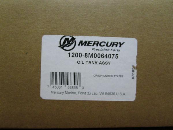 NEW Mercury oil tank 1200-8M0064075