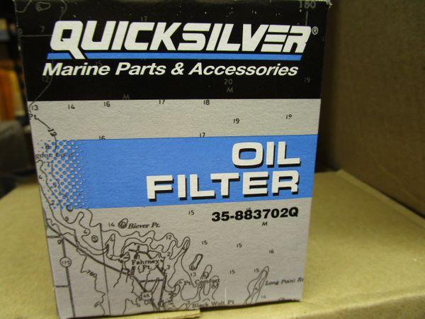 35-883702Q oil filter new by Mercruiser GM V-6