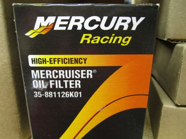 35-881126K01 Mercruiser oil filter GM V-8
