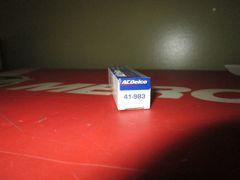 AC Delco spark plug 41-983