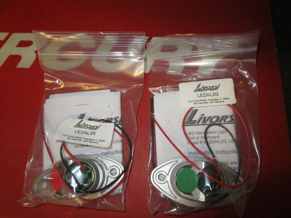 Livorsi Marine LEDNL2G green navigation light