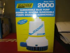 bilge pump subermisble by Seachoice 2000 GPH model # 19301