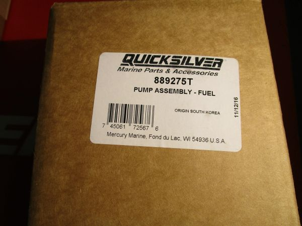 NEW fuel pump by Mercury 889275T